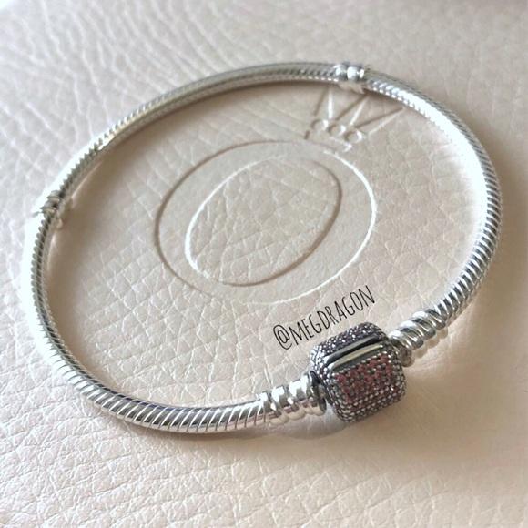 d72c71cbf Pandora Jewelry | New 19cm Bracelet W Signature Clasp | Poshmark